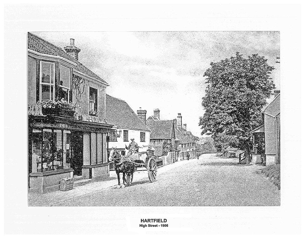 Hartfield - High Street - 1906